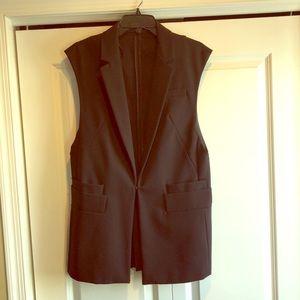 Zara oversized sleeveless blazer